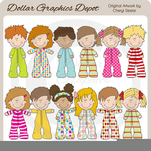 Free pajama clipart banner Child In Pajamas Clipart | Free Images at Clker.com - vector clip ... banner