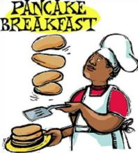 Free pancake breakfast clipart.