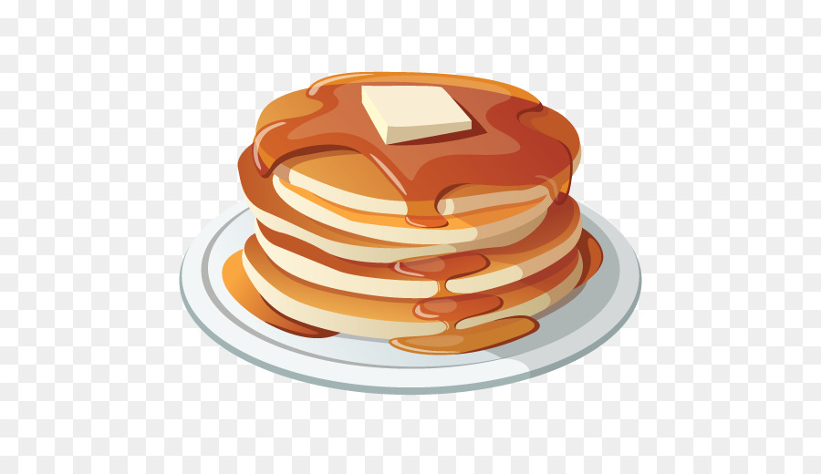 Eating cartoon png download. Free pancake breakfast clipart