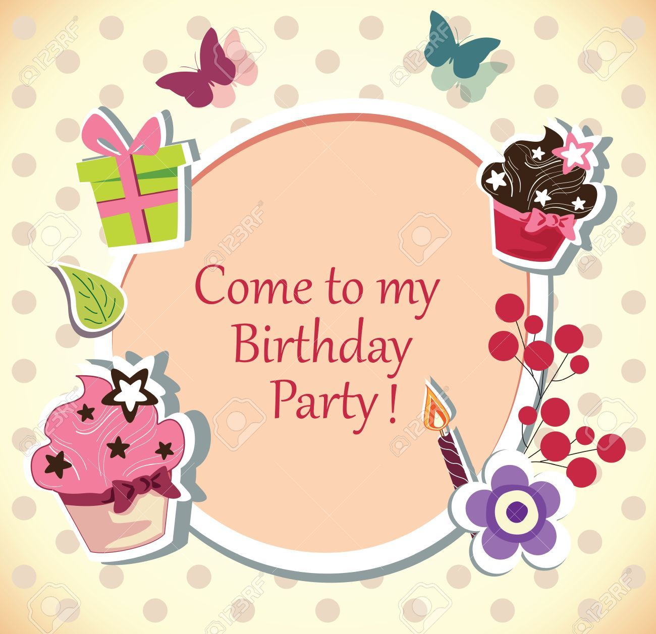 Free party invitation clipart graphic freeuse Free birthday party invitation clipart 3 » Clipart Portal graphic freeuse