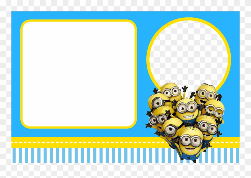 Free party invitation clipart jpg free download Free Despicable Me Party Invitations - Minions Birthday Card ... jpg free download