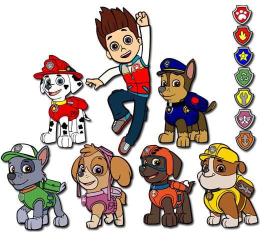 Free paw patrol clipart png transparent library paw patrol picture files | 014 Paw Patrol SVG Cut File | Hand ... png transparent library