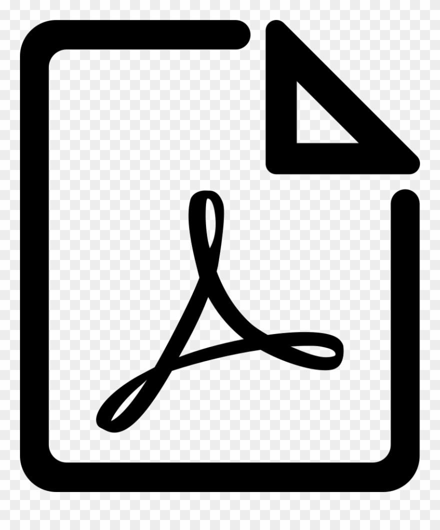 Pdf icon clipart free banner free library Pdf Svg Png Icon Free Download - Adobe Acrobat Clipart (#3361375 ... banner free library
