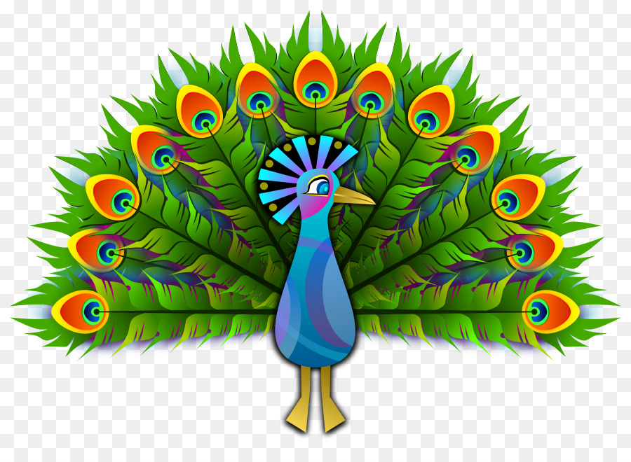 Free peacock clipart clip Peacock Drawing png download - 900*647 - Free Transparent Peafowl ... clip