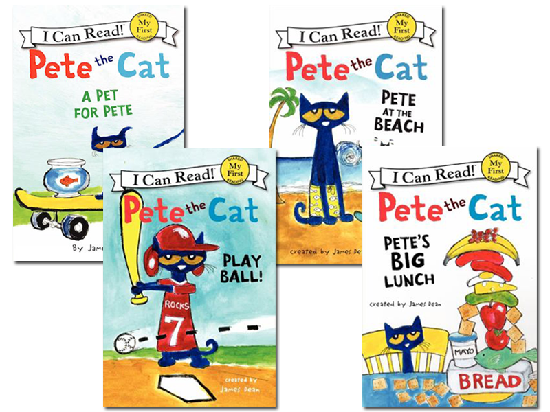 Pete the cat boogie cat clipart picture freeuse download I Can Read: Pete the Cat Collection picture freeuse download