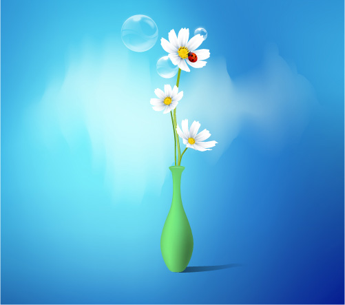 Free photos spring flowers graphic royalty free Spring Flowers Vase Free Vector / 4Vector graphic royalty free