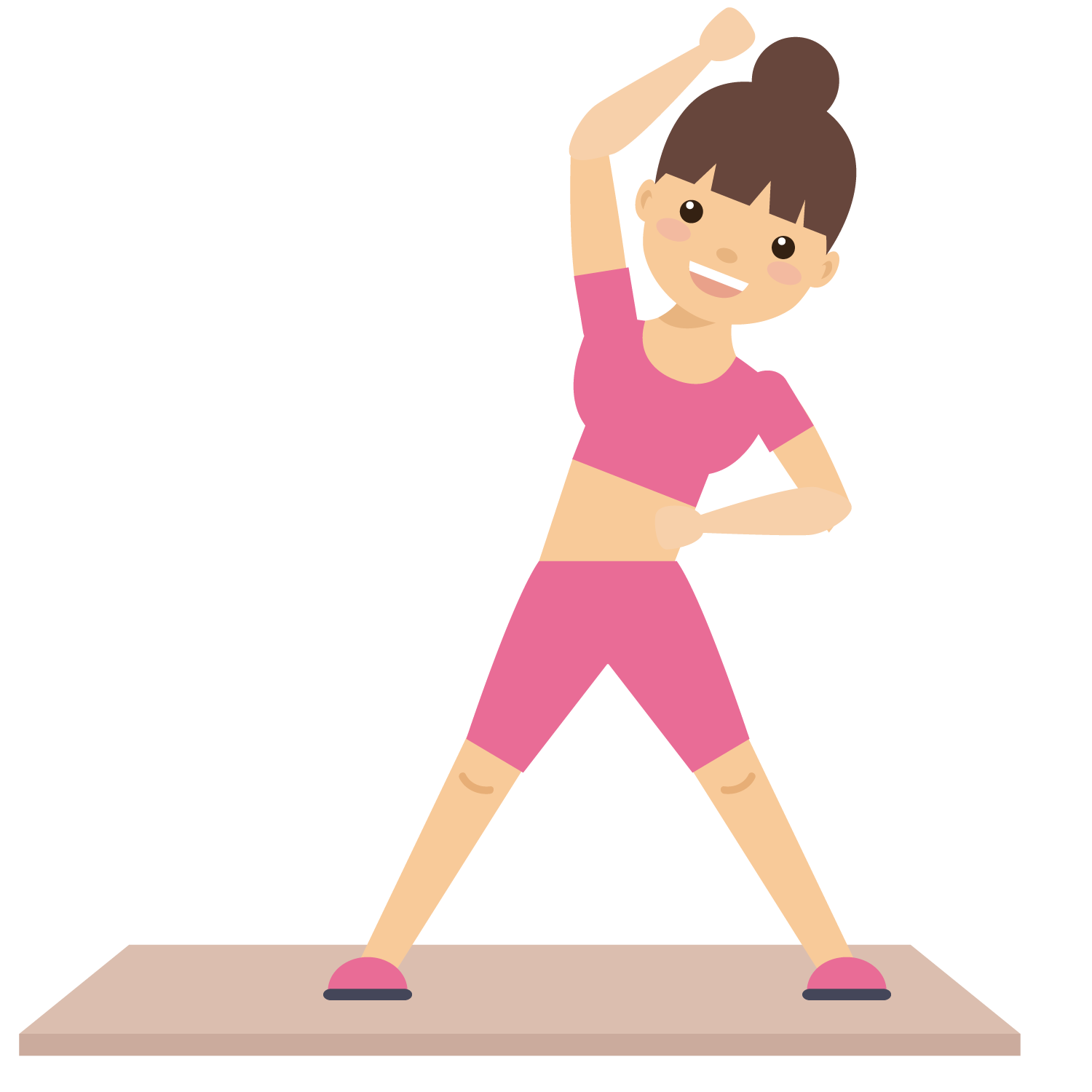 Free physical fitness clipart svg free library Female fitness clipart clipart images gallery for free download ... svg free library