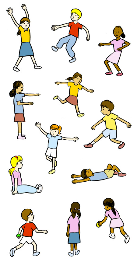 Free physical fitness clipart free Best Physical Education Clipart #20315 - Clipartion.com free
