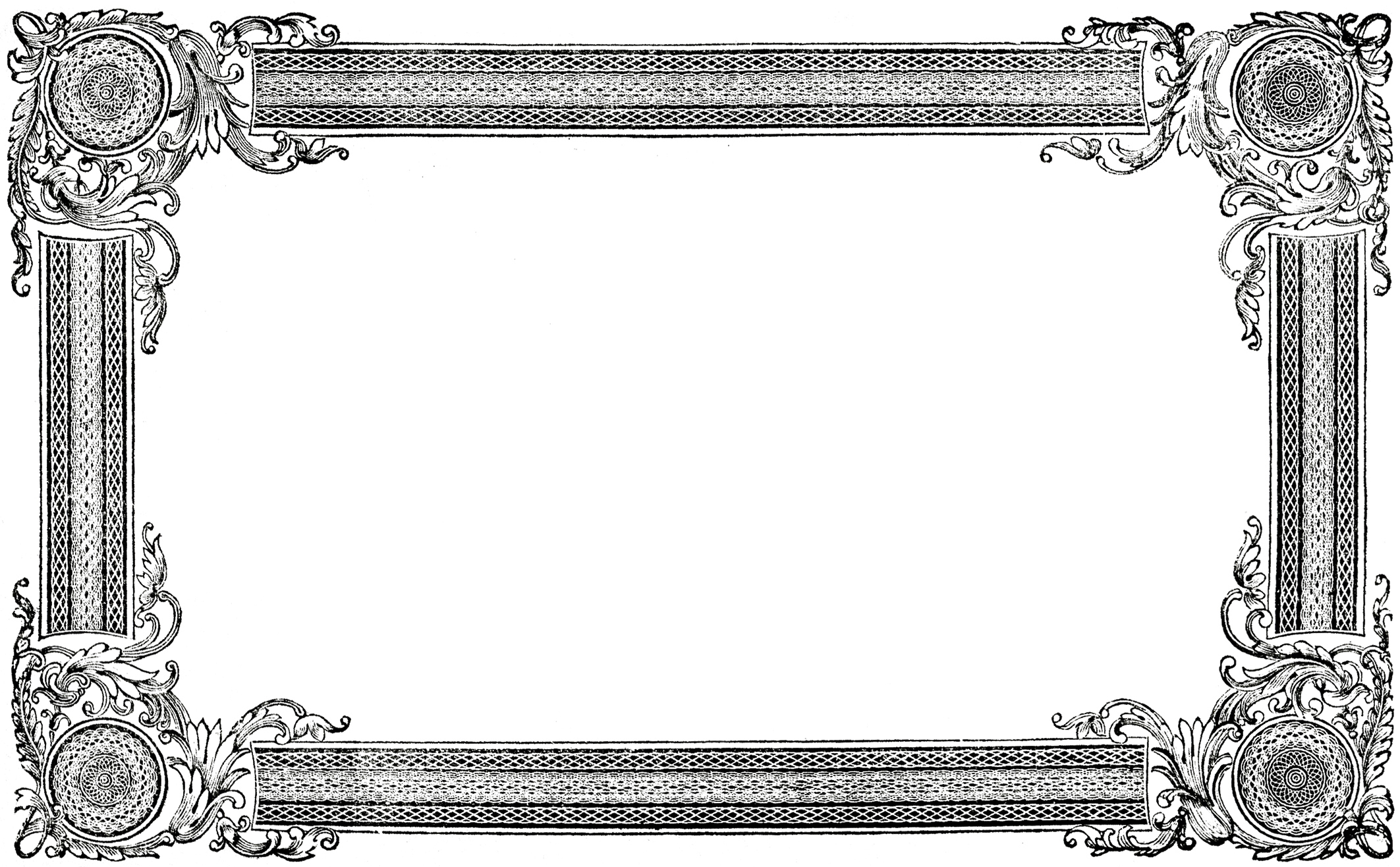 Clip art images the. Free picture frame clipart