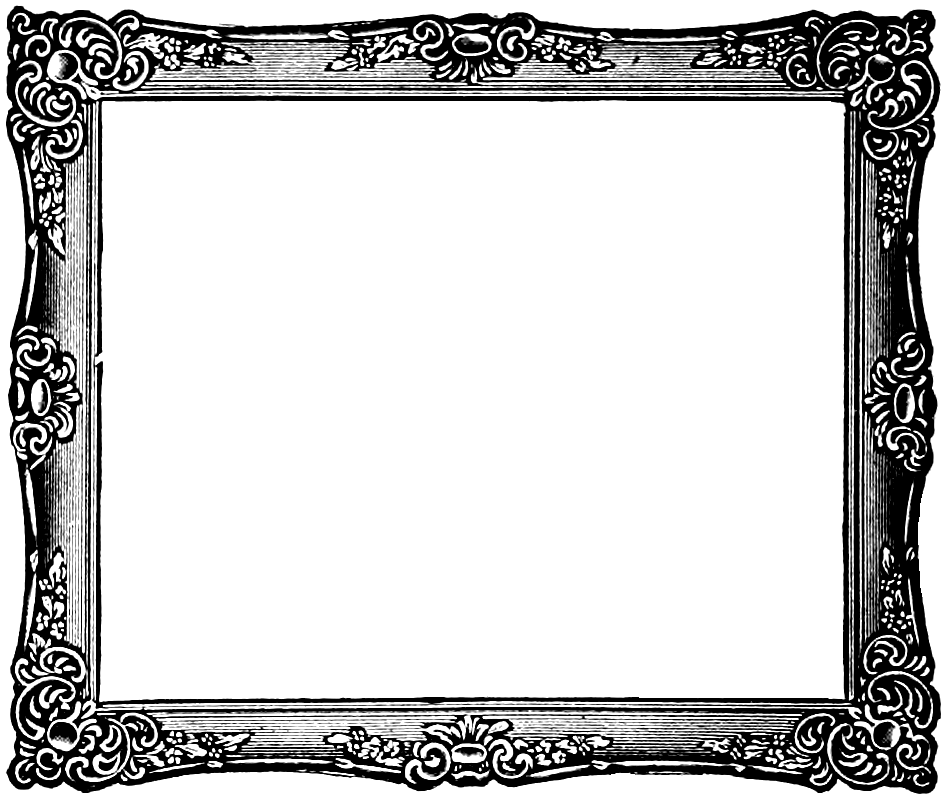 Free picture frame clipart. Fancy border images cliparting
