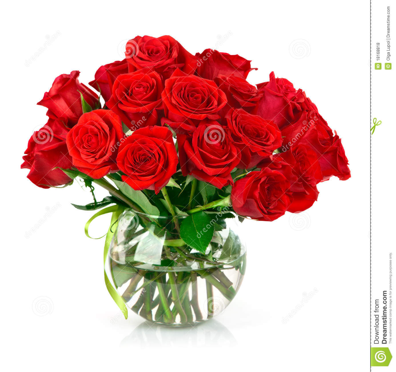 Free picture of bouquet of flowers clipart freeuse Bouquet Of Red Roses Royalty Free Stock Photos - Image: 18168818 clipart freeuse