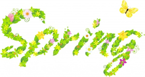 Free picture of spring flowers freeuse Spring flowers Free vector in Adobe Illustrator ai ( .AI ... freeuse