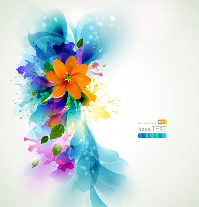 Free pictures of colorful flowers banner royalty free stock Colorful Flowers Wallpaper - WallpaperSafari banner royalty free stock