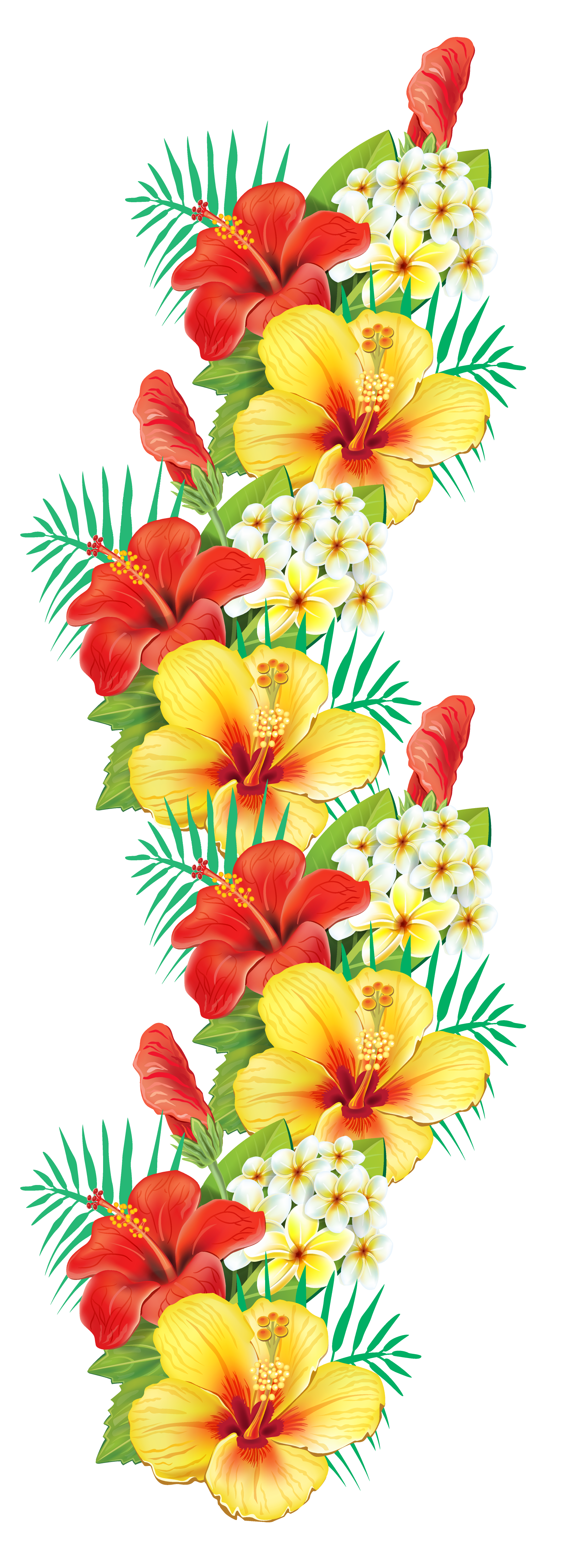 Free pictures of exotic flowers clipart transparent library Tropical Flower Clip Art Free - The Best Flowers Ideas clipart transparent library
