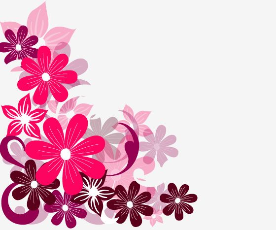 Free pictures of pink flowers clip royalty free library Pink Flower Background | Pink Flowers Free Corel Draw Vectors ... clip royalty free library