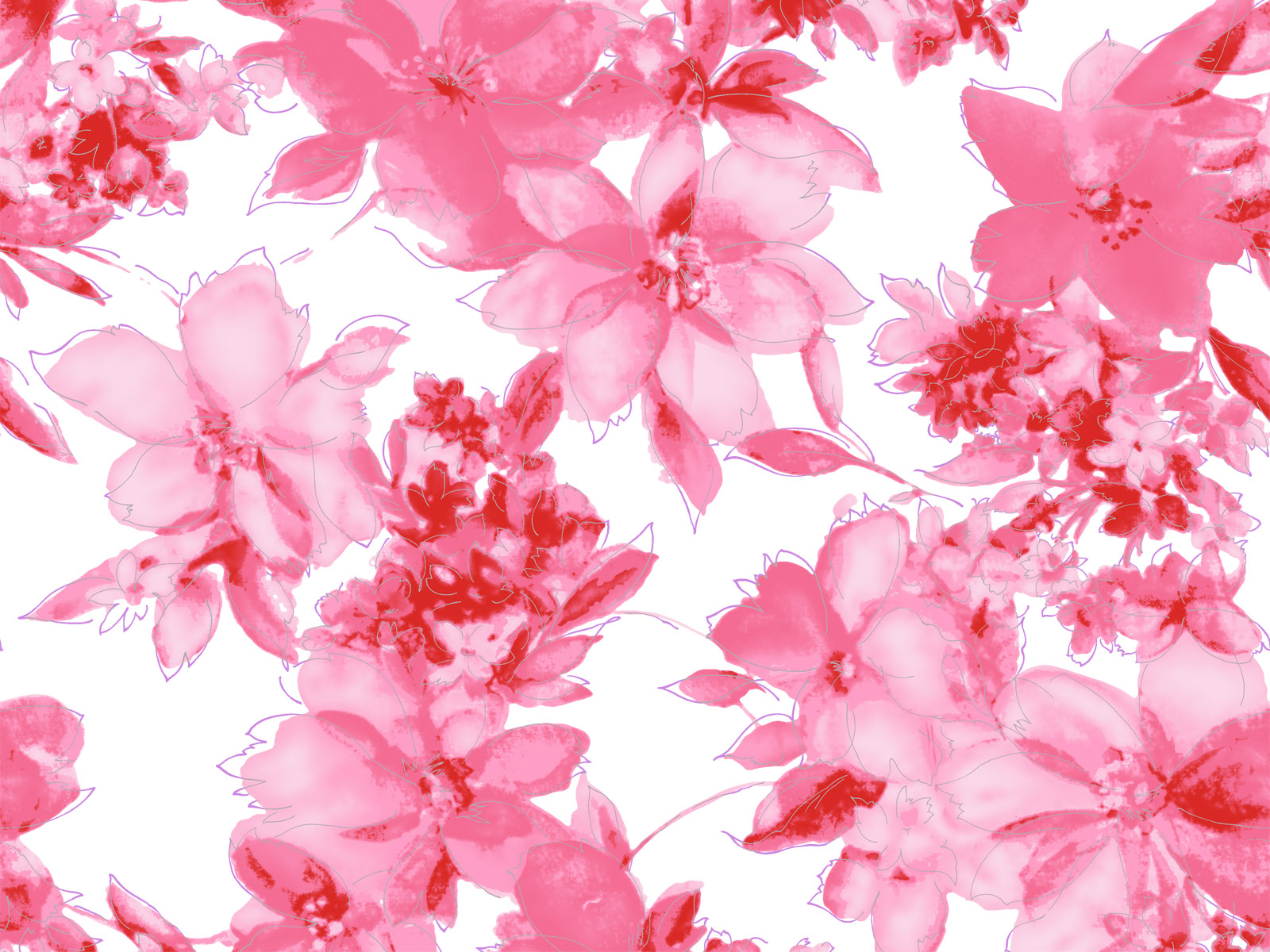 Free pictures of pink flowers clipart 39 units of Pink Flowers Wallpaper clipart