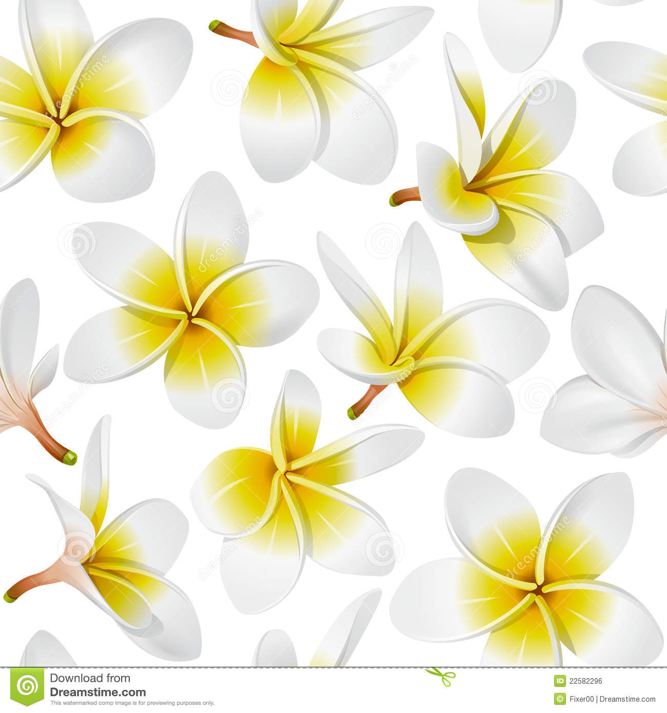 Free pictures of tropical flowers graphic transparent download Tropical Flowers Seamless Pattern Royalty Free Stock Image - Image ... graphic transparent download