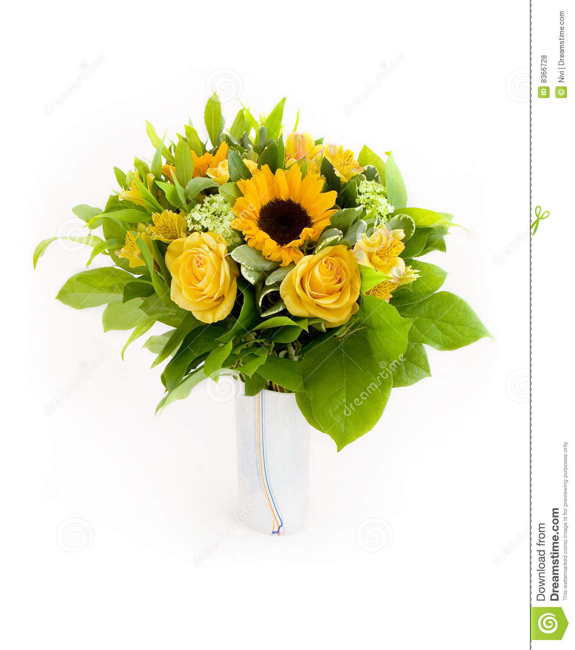 Free pictures of yellow flowers banner royalty free stock Yellow Flowers Bouquet Royalty Free Stock Photos - Image: 8366728 banner royalty free stock