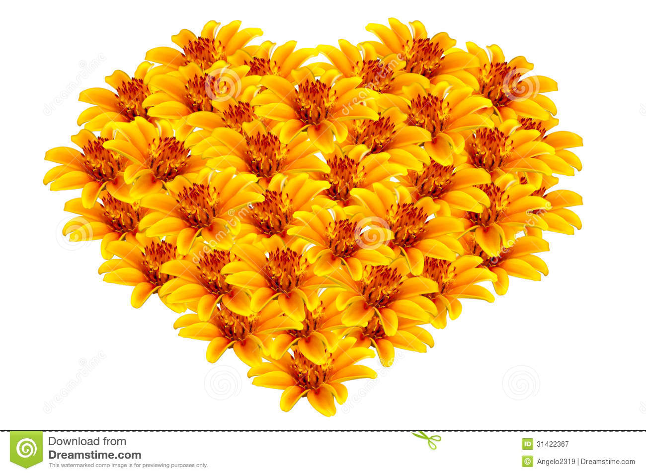 Free pictures of yellow flowers svg library library Beautiful Yellow Flowers Heart-shaped Royalty Free Stock ... svg library library