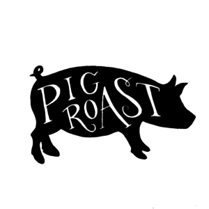 Free pig roast pictures clipart clip art black and white stock free-pig-roast-clip-art-png-pig-roast-pig-roast-on-behance-600.jpg ... clip art black and white stock
