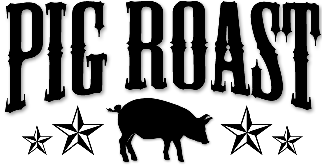 Free pig roast pictures clipart banner black and white download Download Free png pig roast clip art - DLPNG.com banner black and white download
