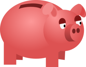 Free piggy bank clipart clip library stock Free piggy bank clipart the cliparts 4 - Clipartix clip library stock