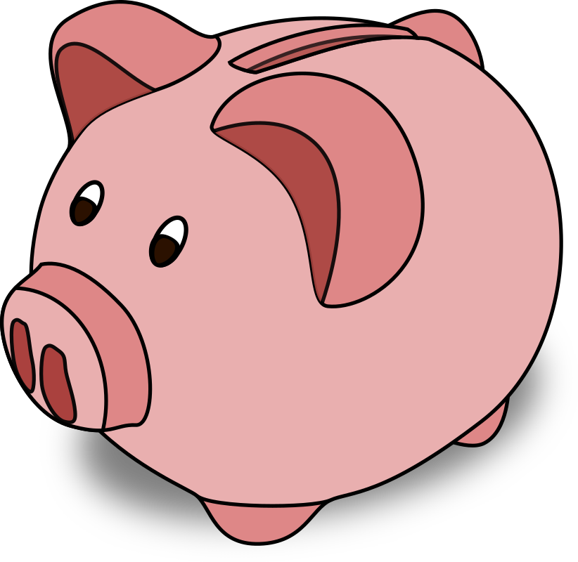 Free piggy bank clipart banner library download Free Piggy Bank Clipart - The Cliparts banner library download