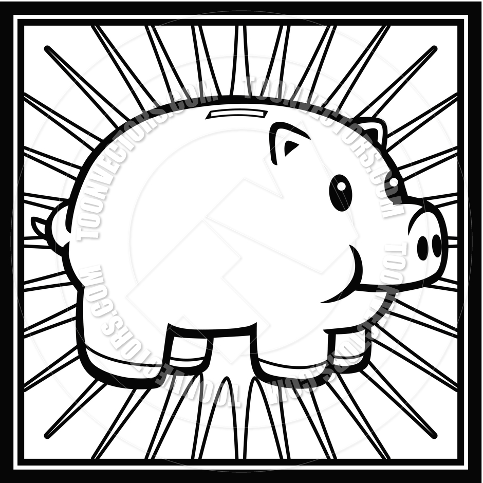 Free piggy bank clipart black and white svg free download Empty Piggy Bank Clipart | Clipart Panda - Free Clipart Images svg free download