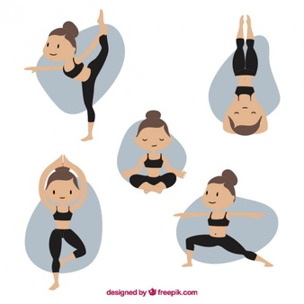 Free pilates clipart jpg royalty free library Pilates Vectors, Photos and PSD files | Free Download jpg royalty free library
