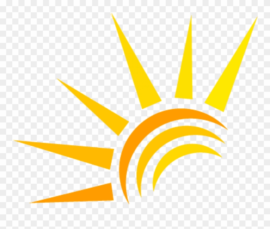 Png download sun logo. Free pink and white rays clipart