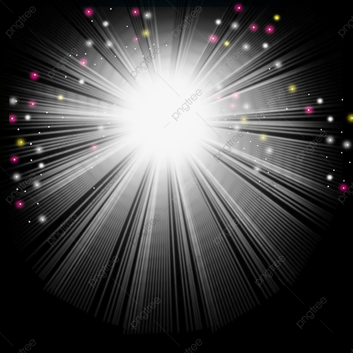Sparkled ray twinkling png. Free pink and white rays clipart