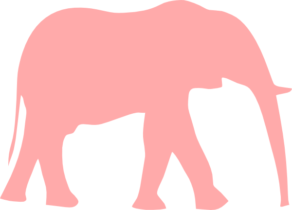 Free pink elephant clipart. Pictures of elephants download