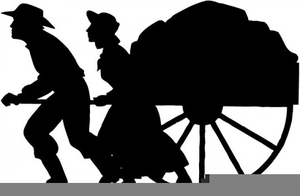 Free pioneer clipart vector library download Lds Pioneer Handcart Clipart | Free Images at Clker.com - vector ... vector library download