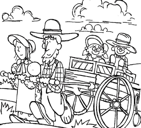Free pioneer clipart picture black and white download Lds Pioneer Clipart Free | Free Images at Clker.com - vector clip ... picture black and white download