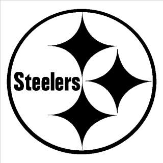 Pittsburgh steelers logo clipart image black and white download Steelers Clip Art - Clipartion.com image black and white download