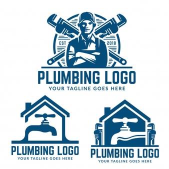 Free plumbing logos clipart jpg royalty free Plumbing Logo Vectors, Photos and PSD files   Free Download jpg royalty free