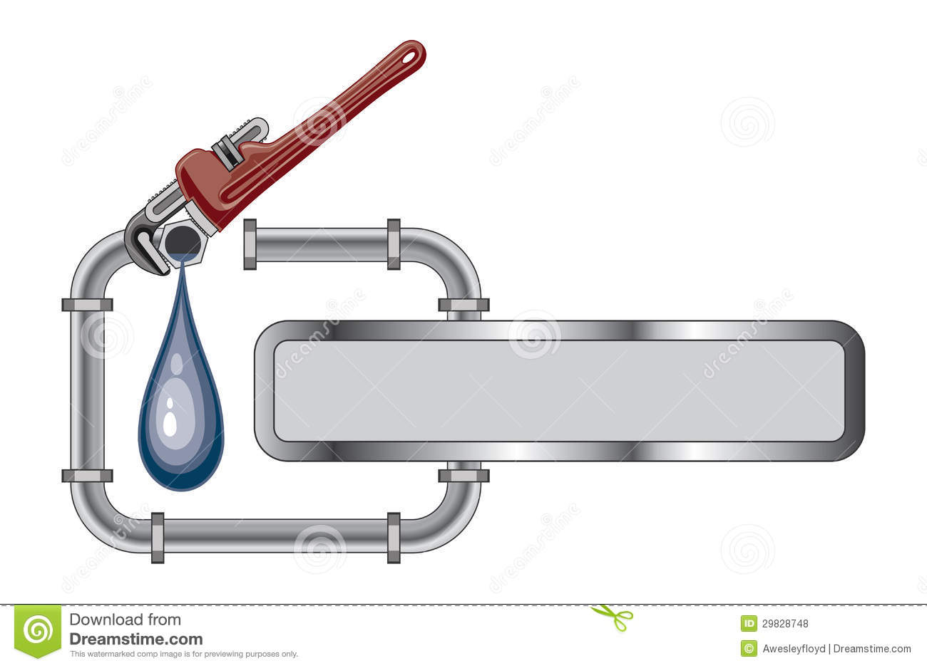 Free plumbing pipes clipart clip freeuse library Plumbing Stock Illustrations – 7,620 Plumbing Stock Illustrations ... clip freeuse library