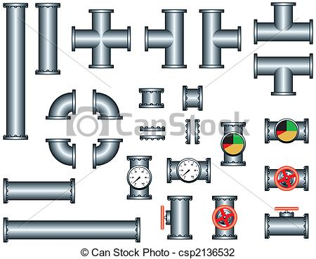 Free plumbing pipes clipart
