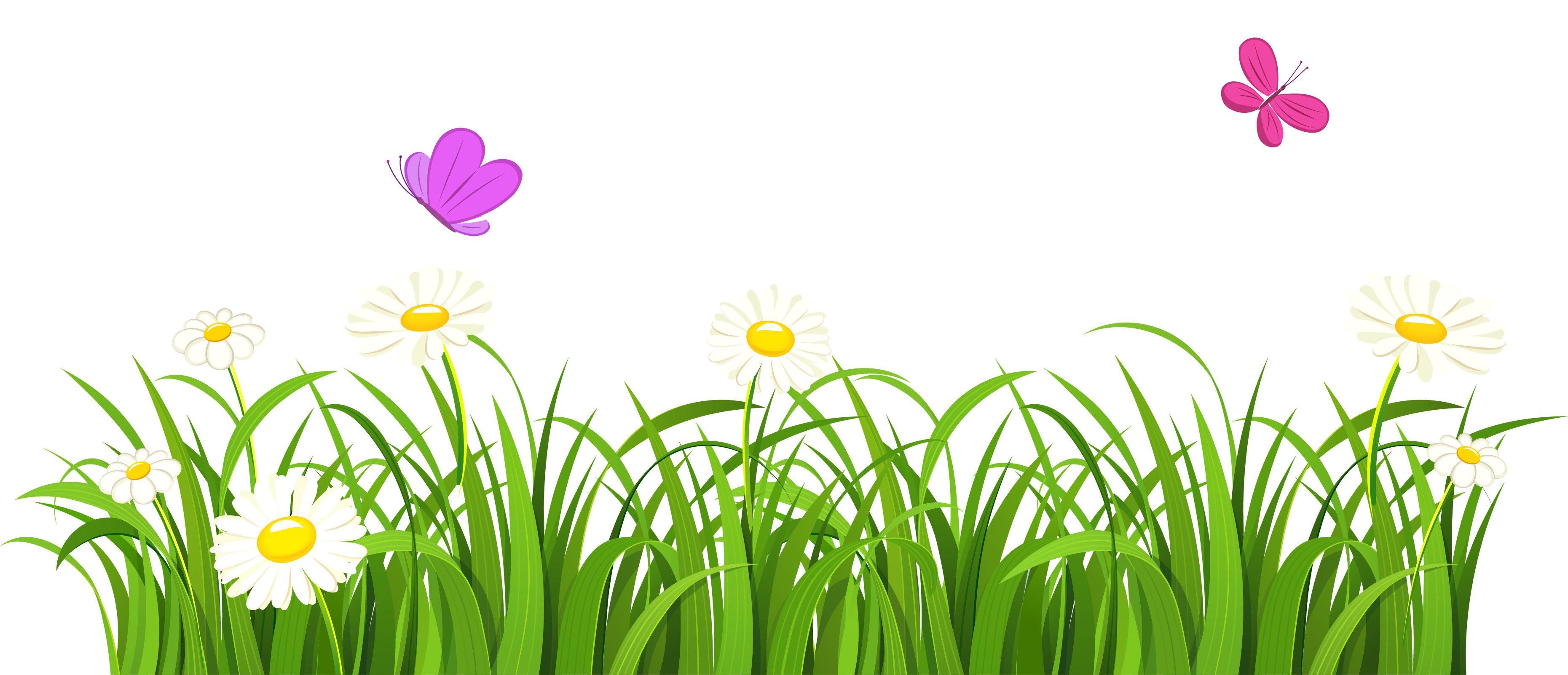 Flower clipart transparent background png library stock Grass clipart transparent background - ClipartFest png library stock
