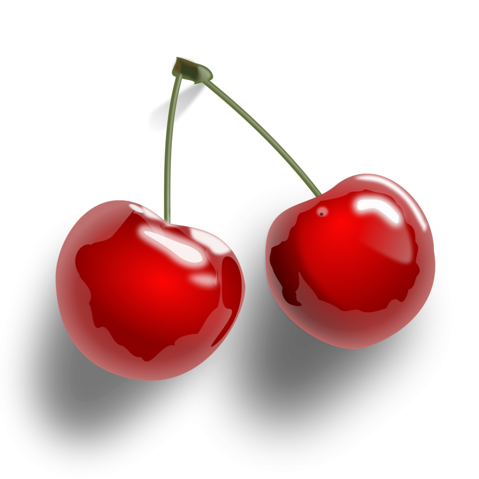 Free png clipart transparent background vector free library Cherries | Free Stock Photo | Illustration of cherries on a ... vector free library