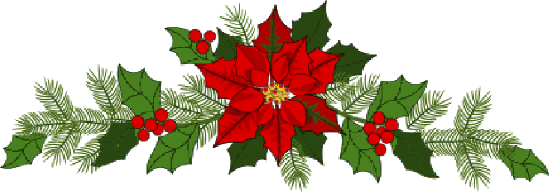 Garland clipart free picture stock Free Poinsettias Cliparts, Download Free Clip Art, Free Clip Art on ... picture stock