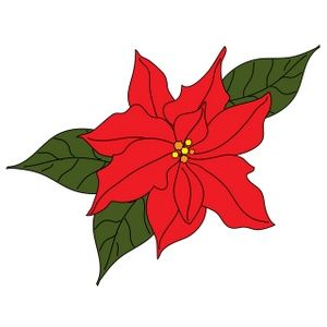 Poinsettia plant clipart banner royalty free library Poinsettia Clip Art Free - ClipArt Best | Poinsettia | Christmas ... banner royalty free library
