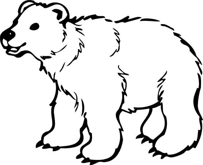 Free polar bear clipart black and white clipart free stock Free Polar Bear Clip Art, Download Free Clip Art, Free Clip Art on ... clipart free stock