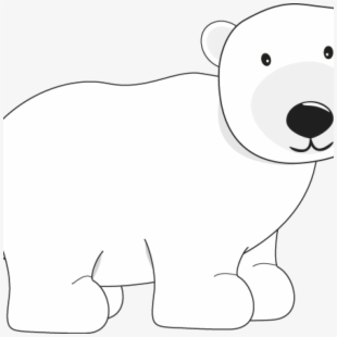Free polar bear clipart black and white clip art free library PNG Polar Bear Cliparts & Cartoons Free Download - NetClipart clip art free library
