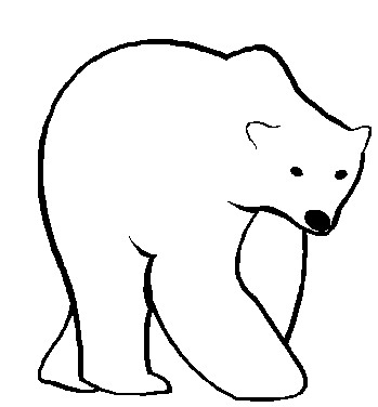 Free polar bear clipart black and white picture black and white Free Free Polar Bear Clipart, Download Free Clip Art, Free Clip Art ... picture black and white