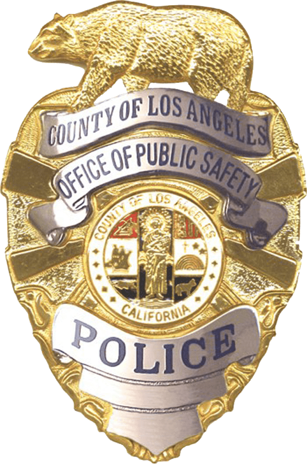 Free police badge clipart with no background. Los angeles transparent png