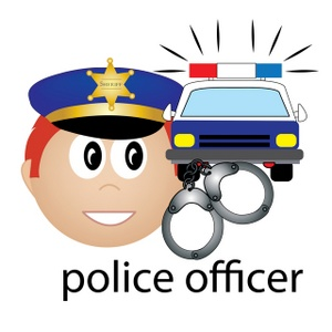 Free police clip art clipart black and white download Free police clip art - ClipartFest clipart black and white download