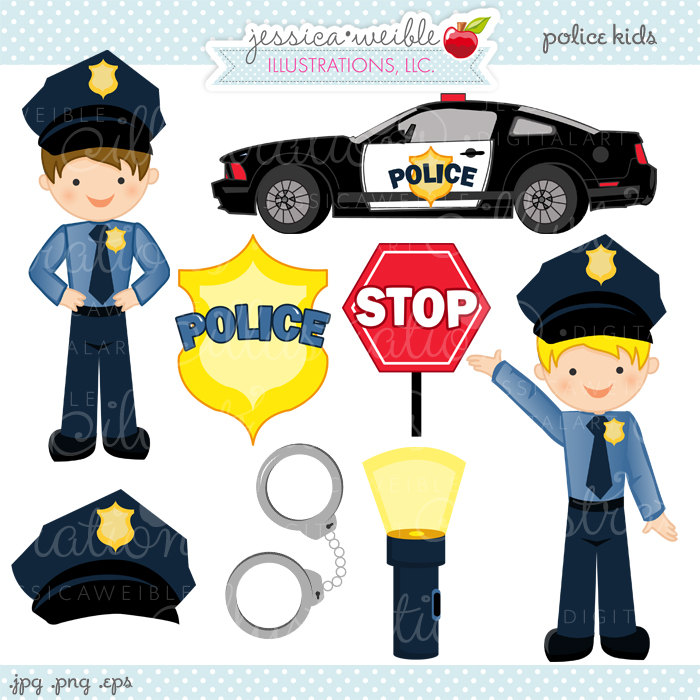 Police clipart free vector black and white stock Police Clip Art Free | Clipart Panda - Free Clipart Images vector black and white stock
