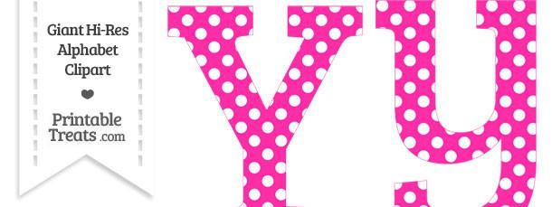 Free polka dot alphabet clipart jpg library stock Pink Polka Dot Anchor Clipart - Clipart Kid jpg library stock