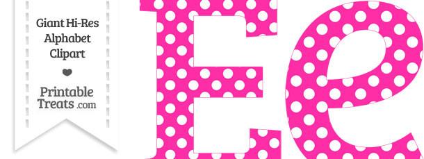 Free polka dot alphabet clipart banner free Polkadot letter clipart - ClipartFest banner free